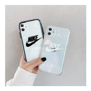 ナイキ iphoneケース 透明ハードケース衝撃吸収オシャレ セレブ iPhone 11 Pro Max iPhonexsmax iPhonexr iPhoneX iPhone8 iPhone7 iPhone8 plus